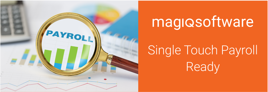 MAGIQ Software Single Touch Payroll Compliant