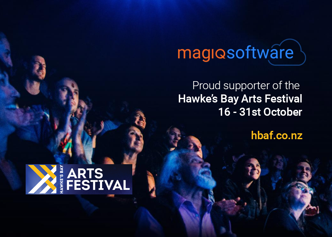 MAGIQ Software is a proud sponsor of the Hawke's Bay Arts Festival